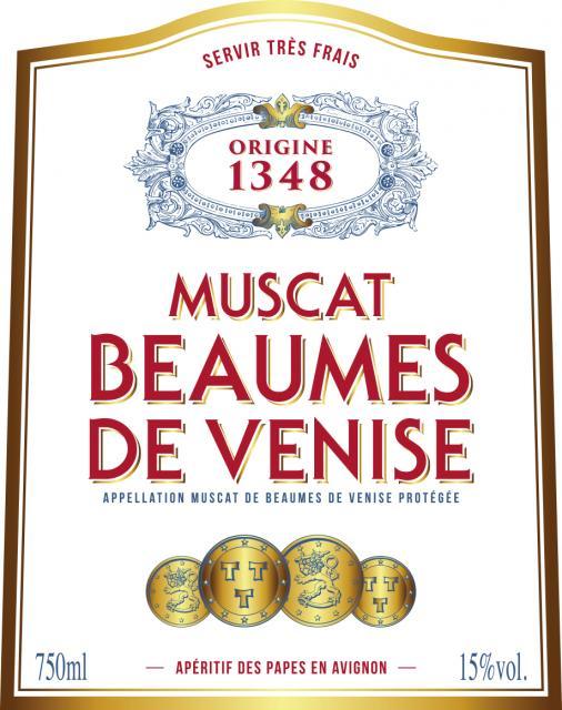 ET   Origine 1348   Blanc Muscat de Beaumes de Venise