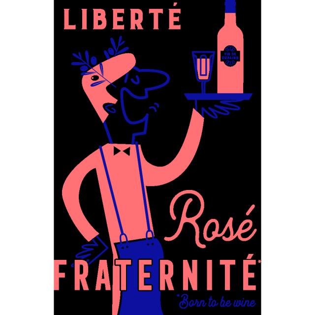 Liberté Rosé Fraternité