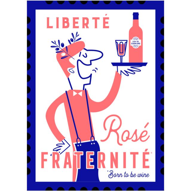 Logo Liberté Rosé Fraternité