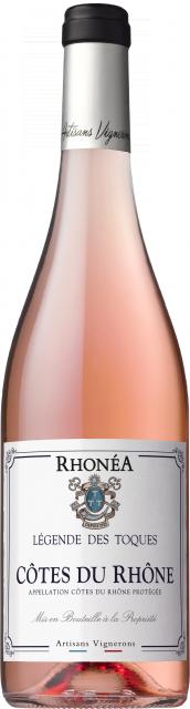 Légende des Toques, AOC Côtes du Rhône, Rosé, 2019