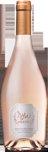 Rosemarie - Rosé, IGP Méditerranée, Rosé, 2019