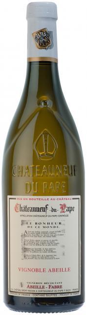 Vignoble Abeille, AOC Châteauneuf-du-Pape, Blanc, 2019