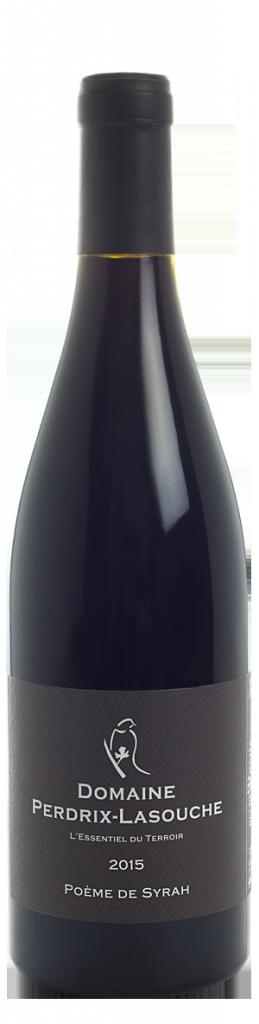 Domaine Perdrix Lasouche, Poème de Syrah AOP Duche d'Uzes, Rouge, 2015
