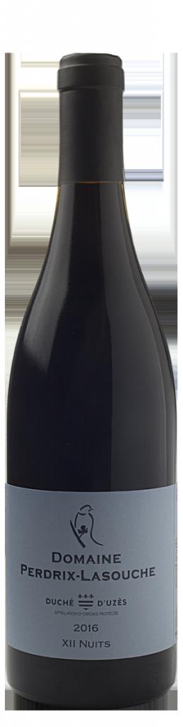 Domaine Perdrix Lasouche, XII Nuits,  AOP  Duché D'Uzès, Rouge, 2016