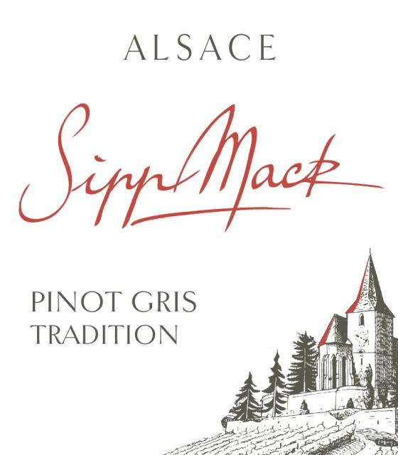 A discretely sweet Pinot Gris !