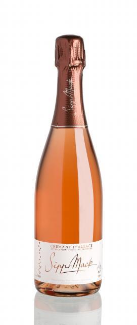 Fine rosé bubbles !