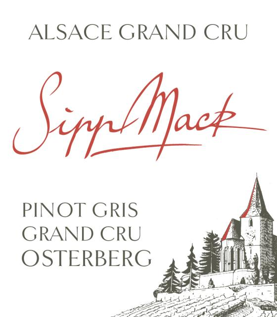 A full and generous Pinot Gris!