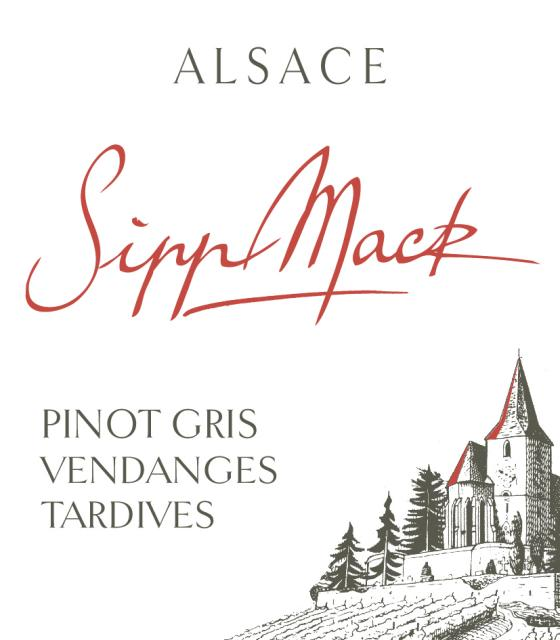A rich, excellent late harvest Pinot Gris!